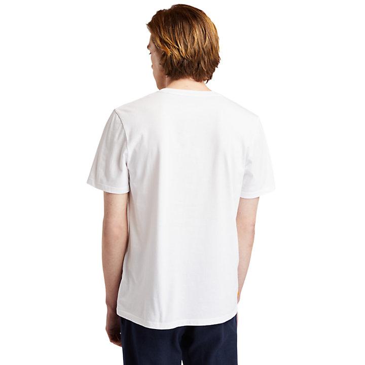 Nature Needs Heroes™ T-Shirt mit Grafik für Herren in Weiß-