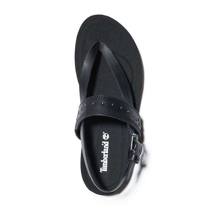 Sandale Malibu Waves pour femme en noir-