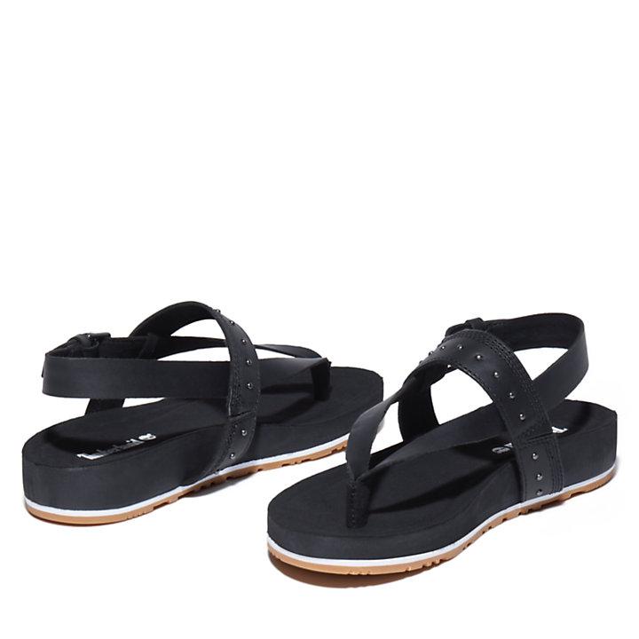 Malibu Waves Sandal for Women in Black-
