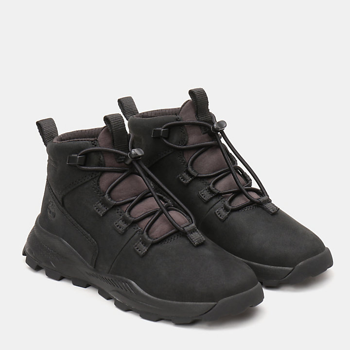 Brooklyn Alpine Chukka for Youth in Black-