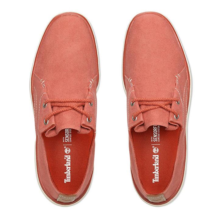 Sapato Oxford Gateway Pier para Homem em Vermelho-