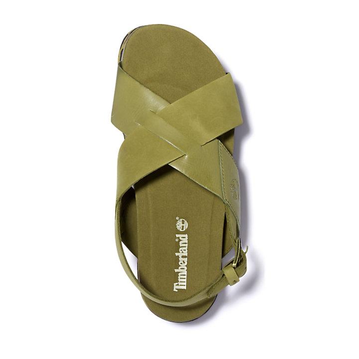 Sandalo da Donna Santa Monica Sunrise in verde-