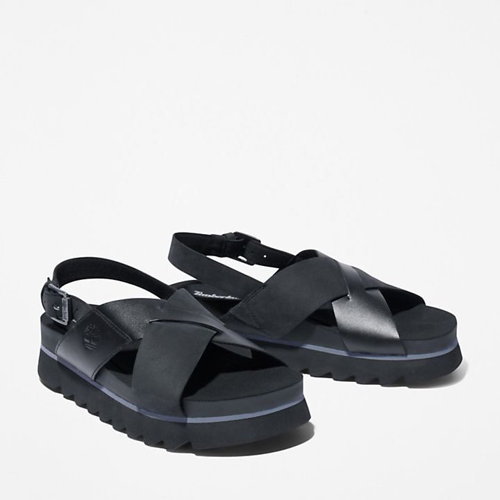 Sandalo da Donna Santa Monica Sunrise in colore nero-