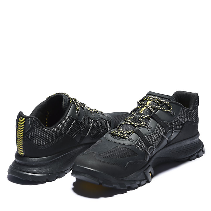 Garrison Trail Hiking Sneaker for Men in Black-