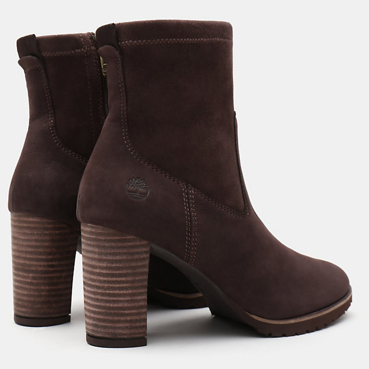 Leslie Anne Boot for Women in Dark Brown-