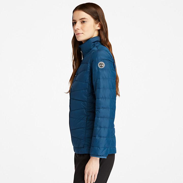 Lightweight Packable Jacket for Women in Blue-