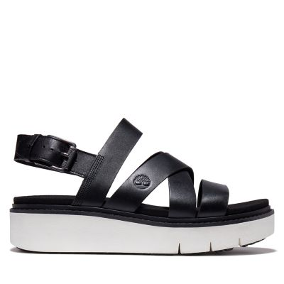 Safari+Dawn+Backstrap+Sandal+for+Women+in+Black
