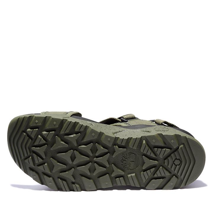 Sandale Ripcord pour homme en vert-