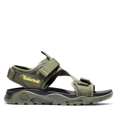 Ripcord+Sandal+for+Men+in+Green