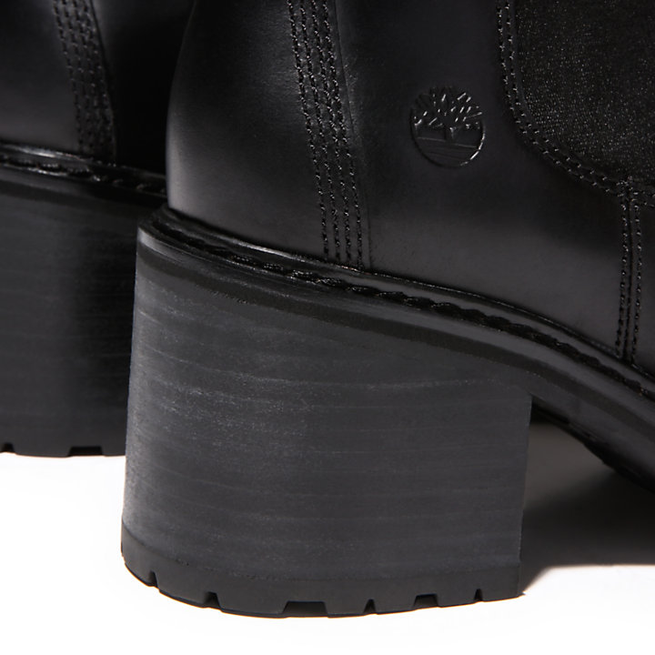 Bota Chelsea Sienna High para Mujer en color negro-