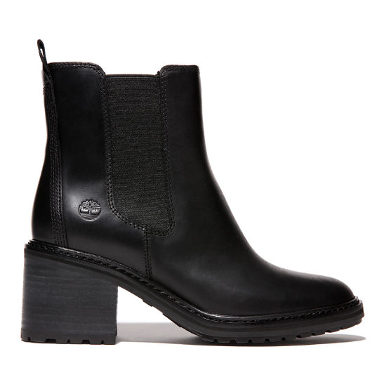 Sienna High Chelsea Boot for Women in Black | Timberland