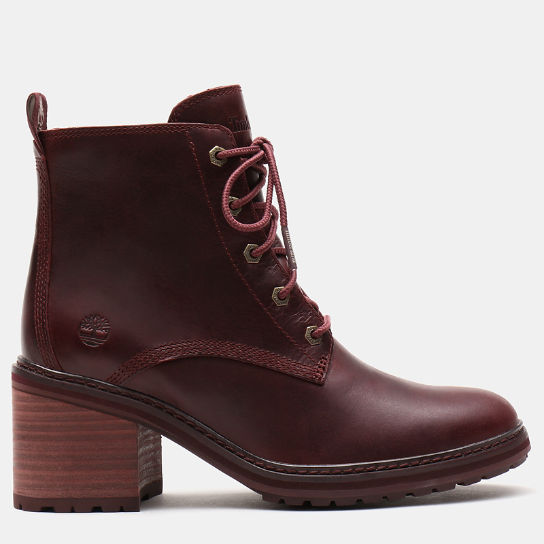 Stivaletto da Donna Stringato Sienna High in bordeaux | Timberland