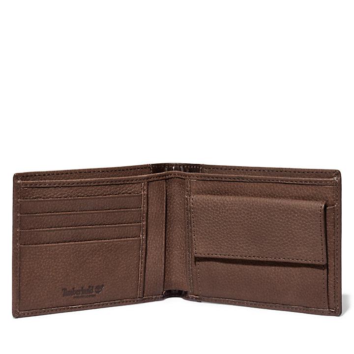 Ashfield Large Wallet for Men in Brown-