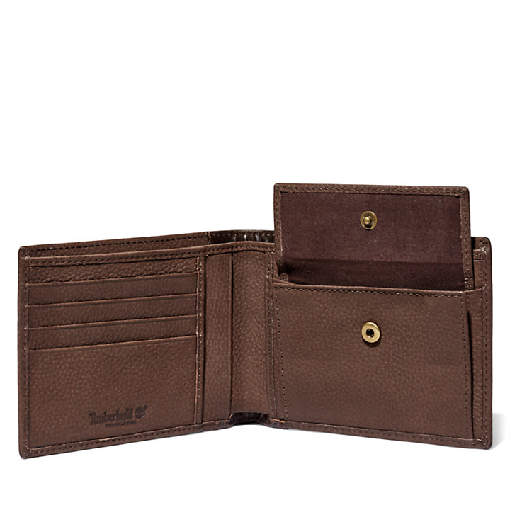 Ashfield Large Wallet for Men in Brown-