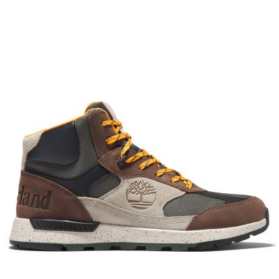 Field+Trekker+Mid+Hiker+for+Men+in+Dark+Brown