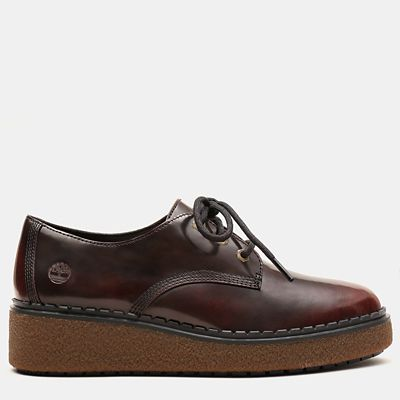 Bluebell+Lane+Derby+for+Women+in+Burgundy