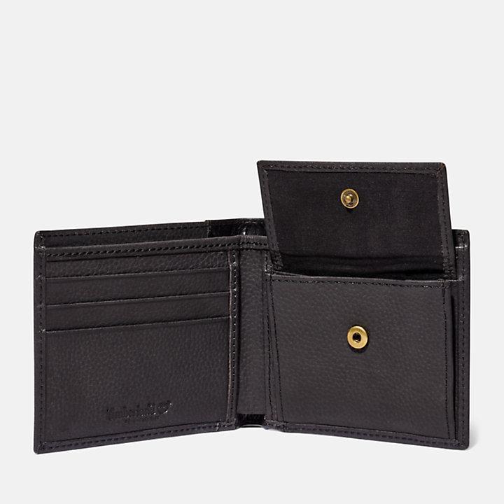 Ashfield Wallet with Coin Pocket for Men in Dark Grey-