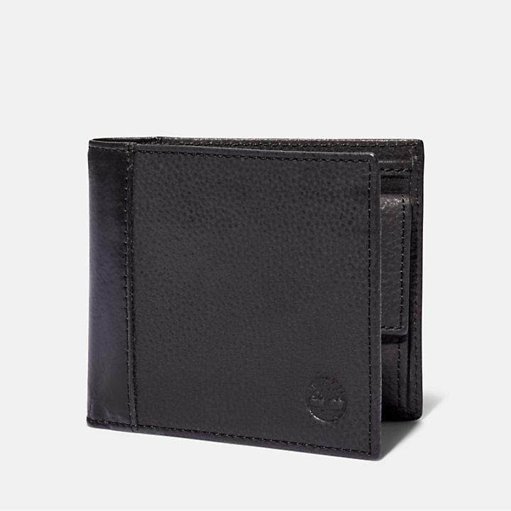 Portefeuille Ashfield avec porte-monnaie pour homme en gris foncé-