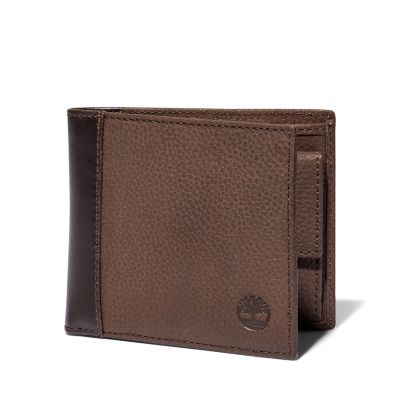 Ashfield+Wallet+with+Coin+Pocket+for+Men+in+Brown