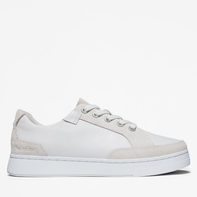 Atlanta+Green+Sneaker+for+Women+in+White