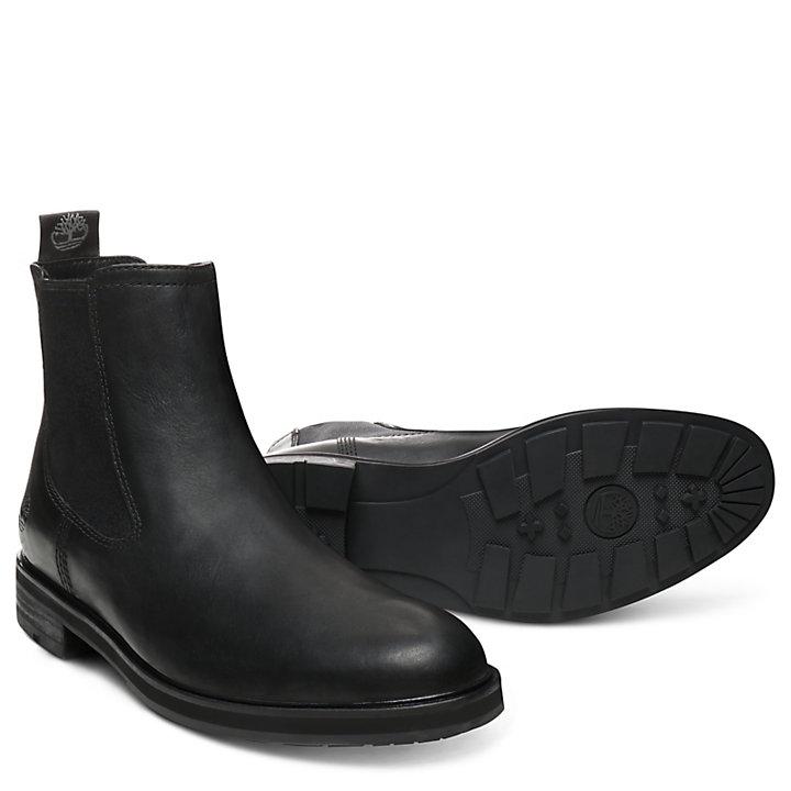 Windbucks Chelsea Boot for Men in Black-