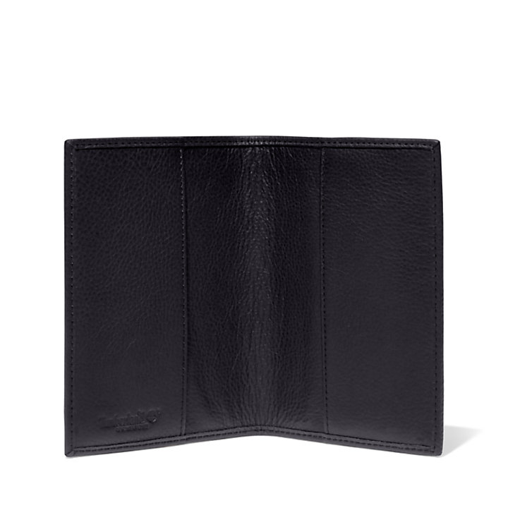 Card and Passport Holder Gift Set for Men in Black-