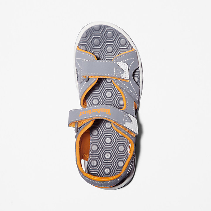 Adventure Seeker Sandal for Youth in Grey/Orange-