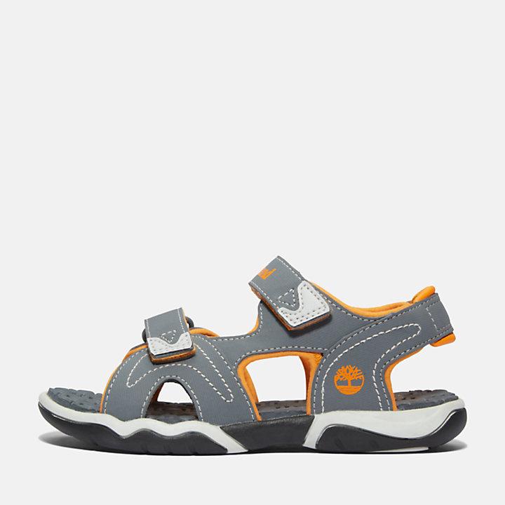 Adventure Seeker Sandaal voor kids in grijs/oranje-