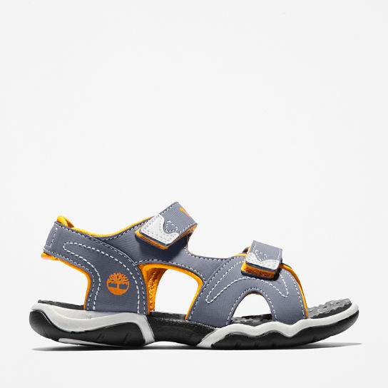 Adventure Seeker Sandal for Youth in Grey/Orange | Timberland