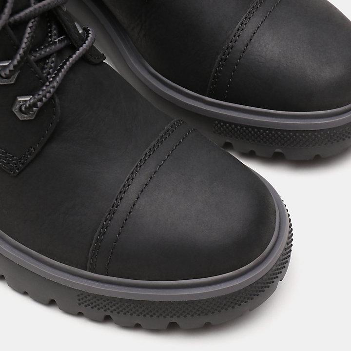 Silver Blossom Boot voor Dames in zwart-