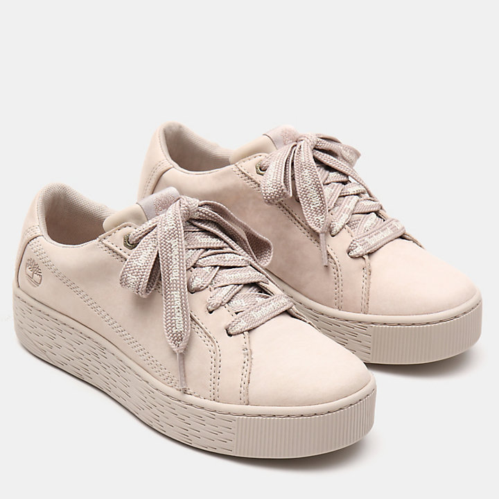 Marblesea Leather Sneaker voor Dames in taupe-