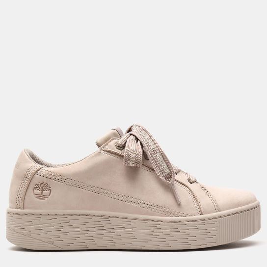 Marblesea Leather Sneaker voor Dames in taupe | Timberland