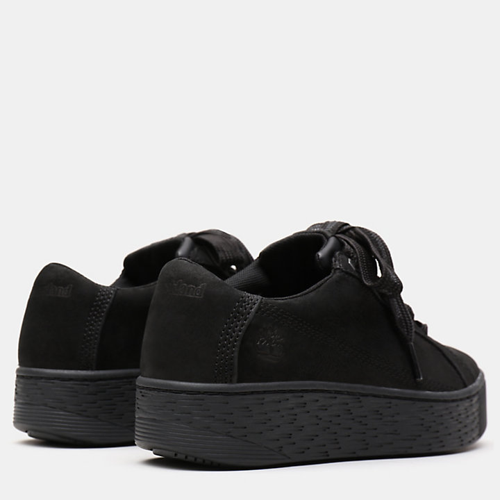 Marblesea Leather Sneaker for Women in Black-
