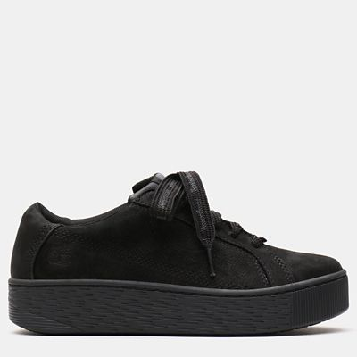 Marblesea+Leather+Sneaker+for+Women+in+Black