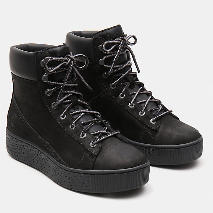 Marblesea Hightop Sneaker for Women in Black-