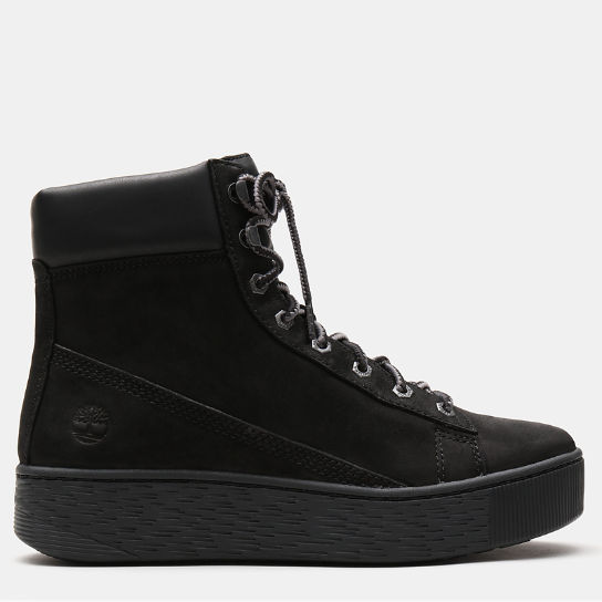 Marblesea Hightop Sneaker for Women in Black | Timberland