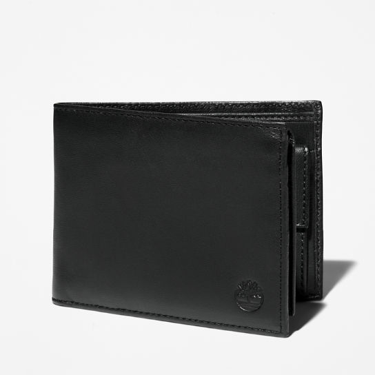 Kittery Point Trifold Wallet for Men in Black | Timberland