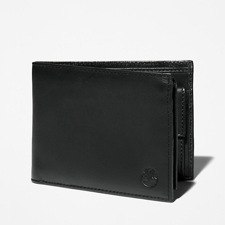 Kittery Point Trifold Wallet for Men in Black-