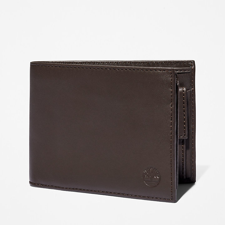 Cartera de Tres Paneles Kittery Point para Hombre en marrón-