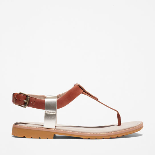 Chicago Riverside Thong Sandal for Women in Brown | Timberland