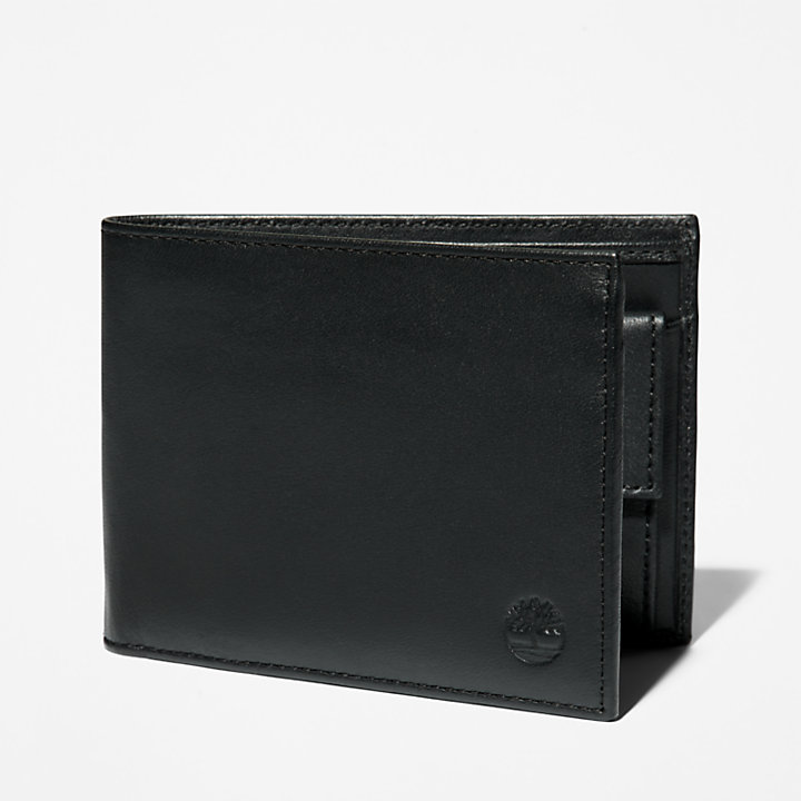 Kittery Point Wallet for Men in Black-