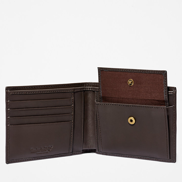Portefeuille Kittery Point pour homme en marron-