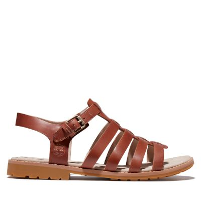 Chicago+Riverside+Fisherman+Sandal+for+Women+in+Brown