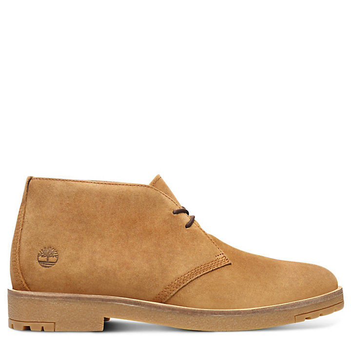 Folk Gentleman Chukka for Men in Light Brown-