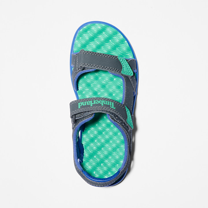 Perkins Row Strappy Sandal for Youth in Grey-