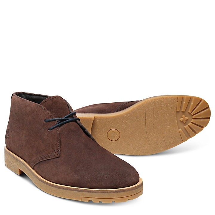 Folk Gentleman Chukka for Men in Brown-