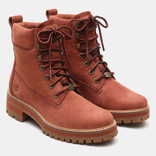Courmayeur Valley 6-Inch-Damenstiefel in Braun | Timberland