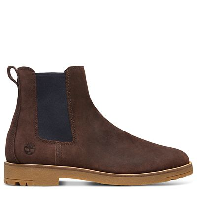 Folk+Gentleman+Chelsea+Boot+for+Men+in+Brown
