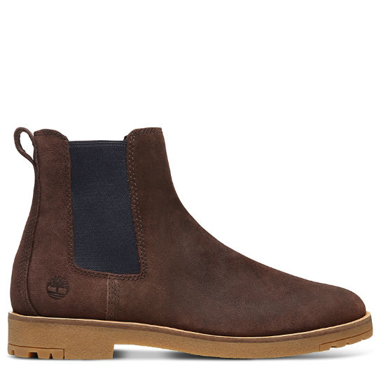 Folk Gentleman Chelsea Boot for Men in Brown | Timberland