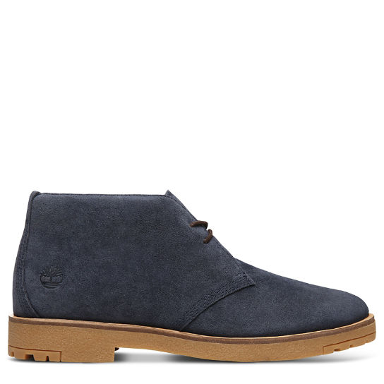 Folk Gentleman Chukka for Men in Navy | Timberland